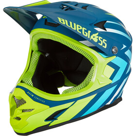 bluegrass Intox Casque, avio/blue shaded/fluo yellow